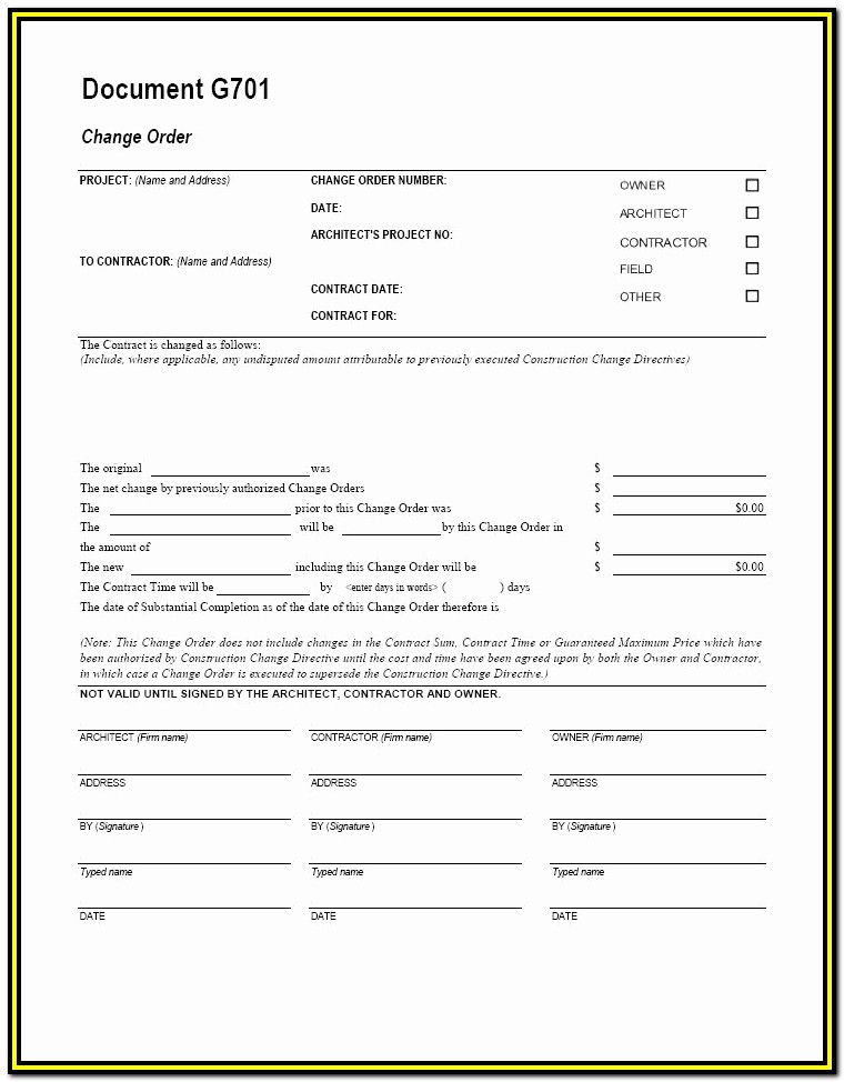 Aia Form G703 Instructions