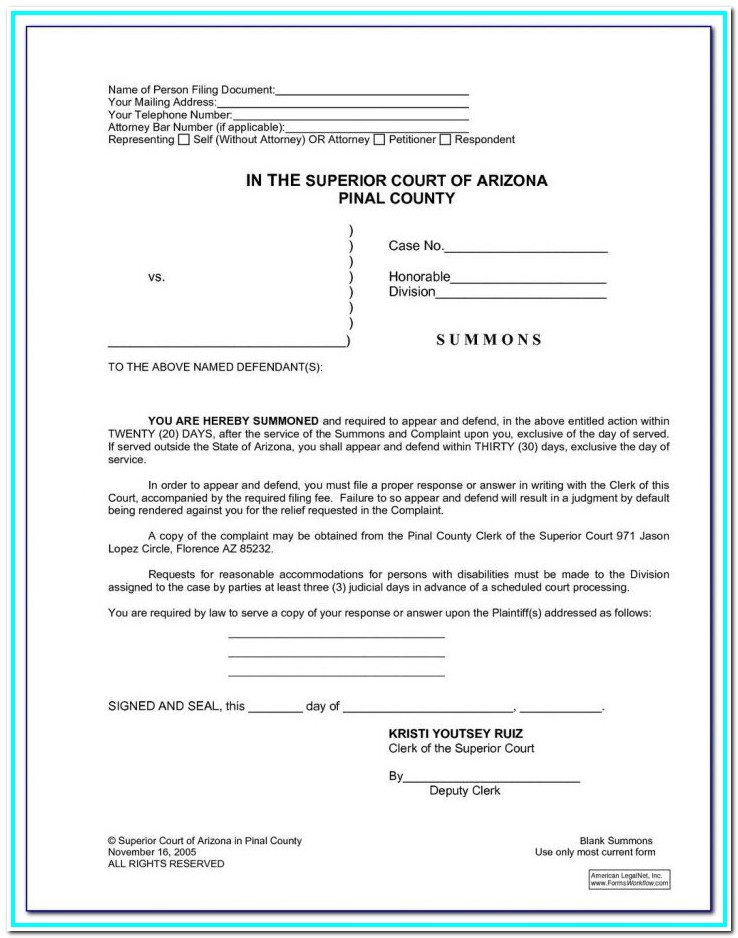 Cobb County Divorce Paperwork