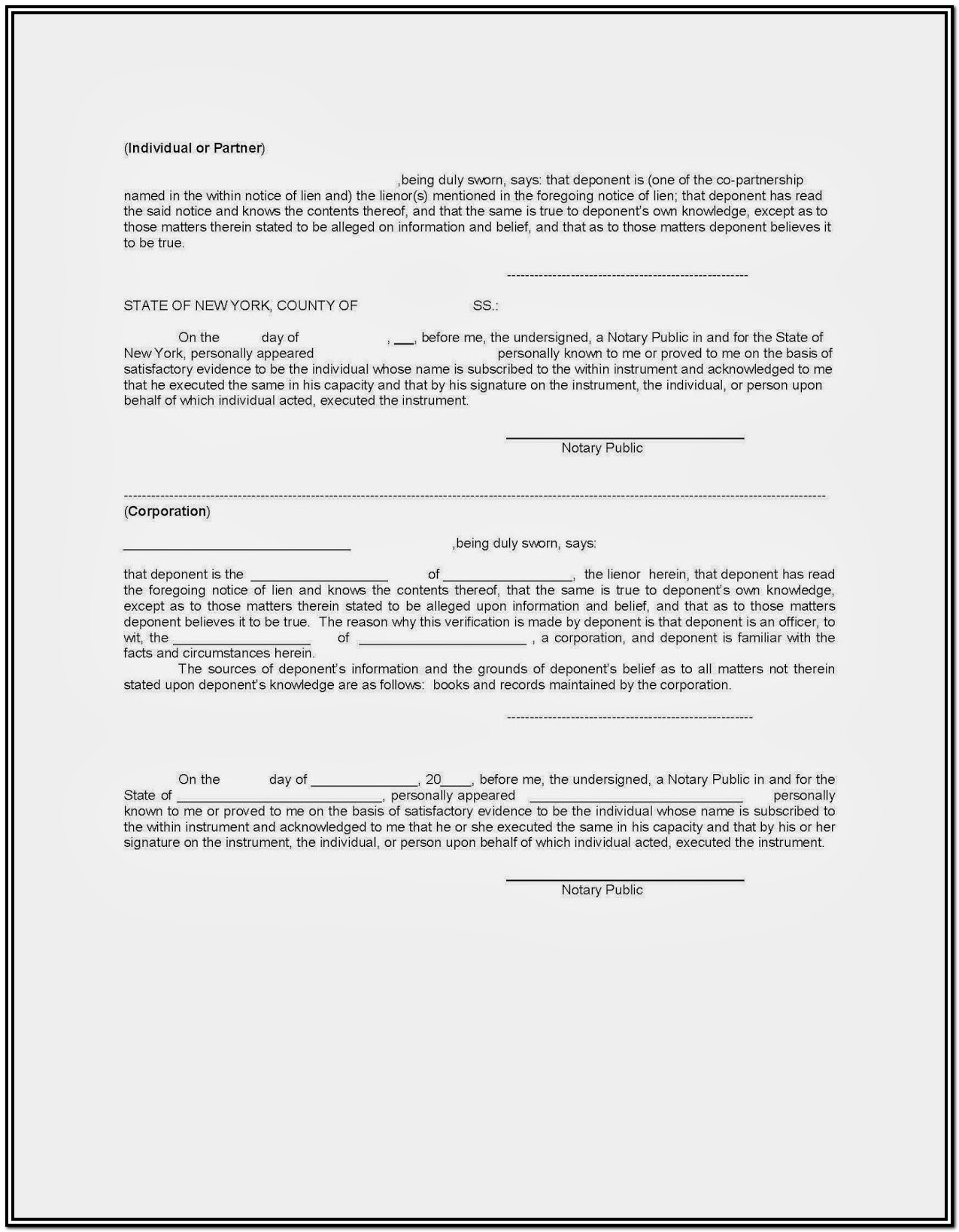 Construction Lien Waiver Form Colorado