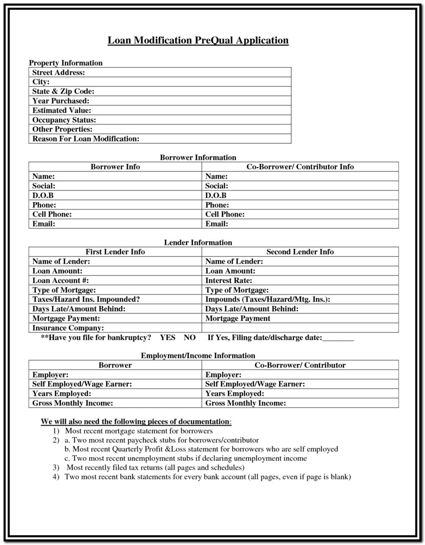 Free Bankruptcy Forms Chapter 7