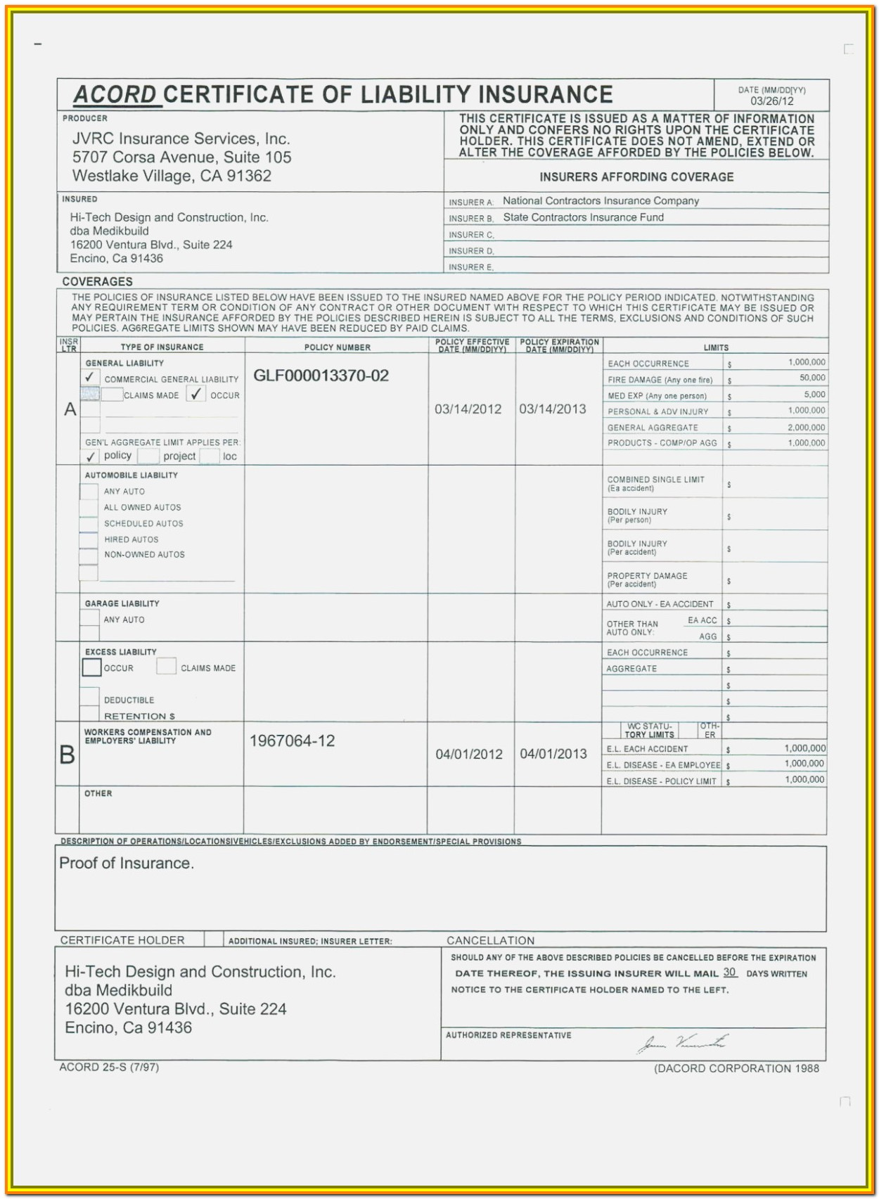 Free Fillable Acord Forms Online