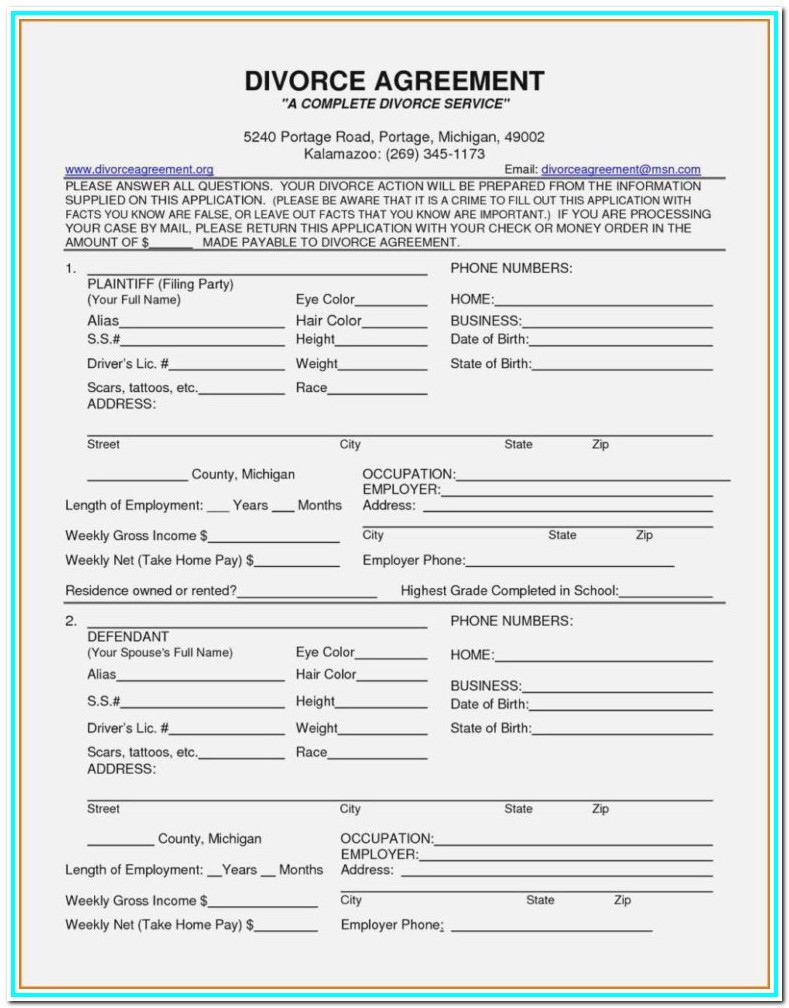Harris County Divorce Filing