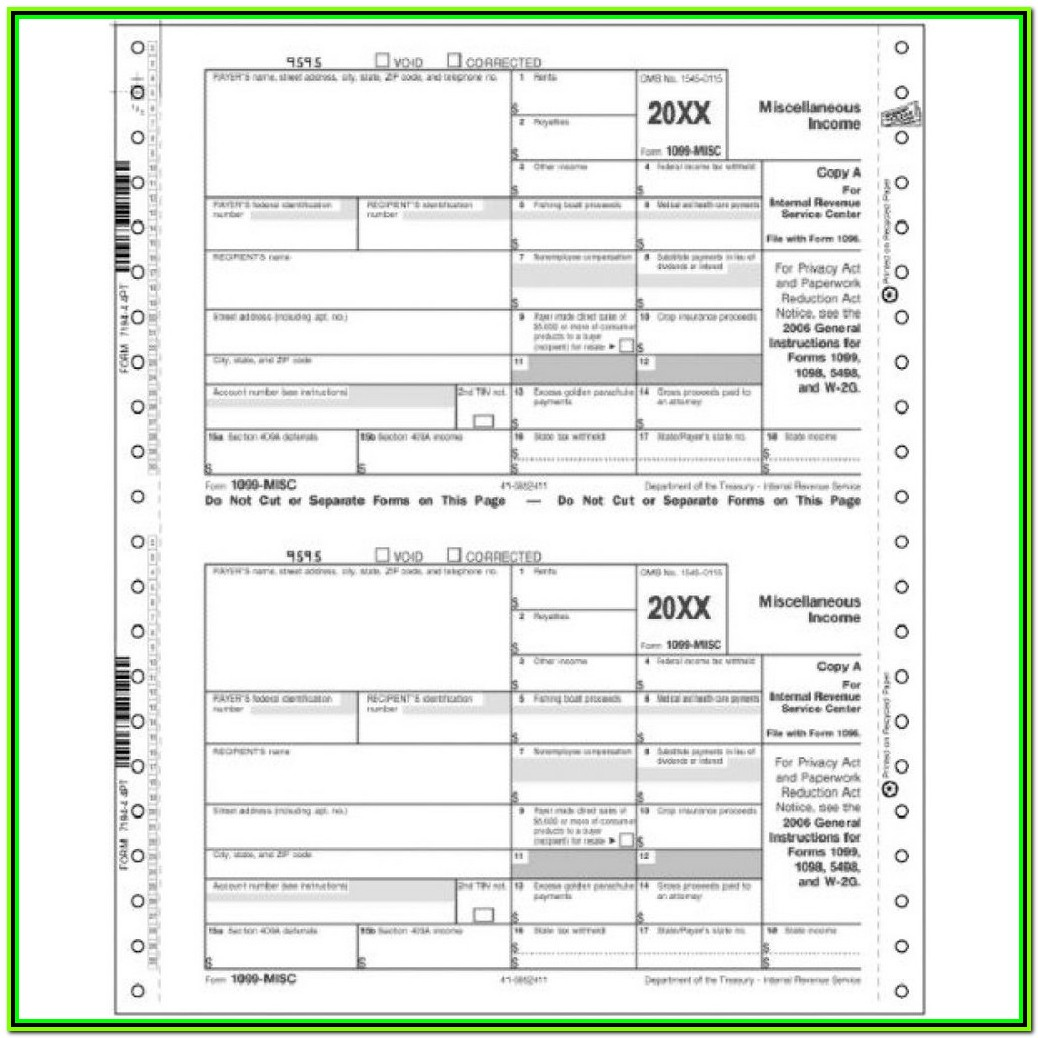 Irs Gov Forms 1099 Misc