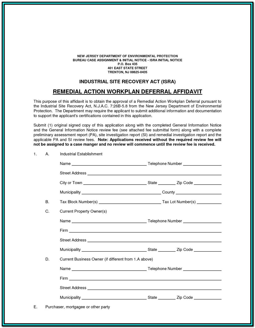 Notary Affidavit Format For Name Correction