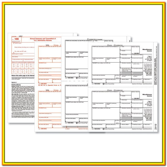 Order Tax Form 1099 Misc