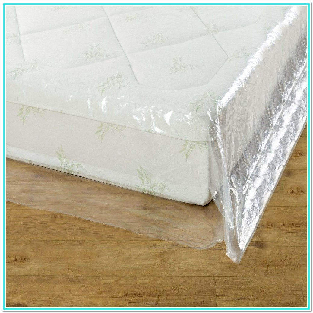 Queen Size Bed Mattress Protector Plastic Cover Moving & Storage Bag