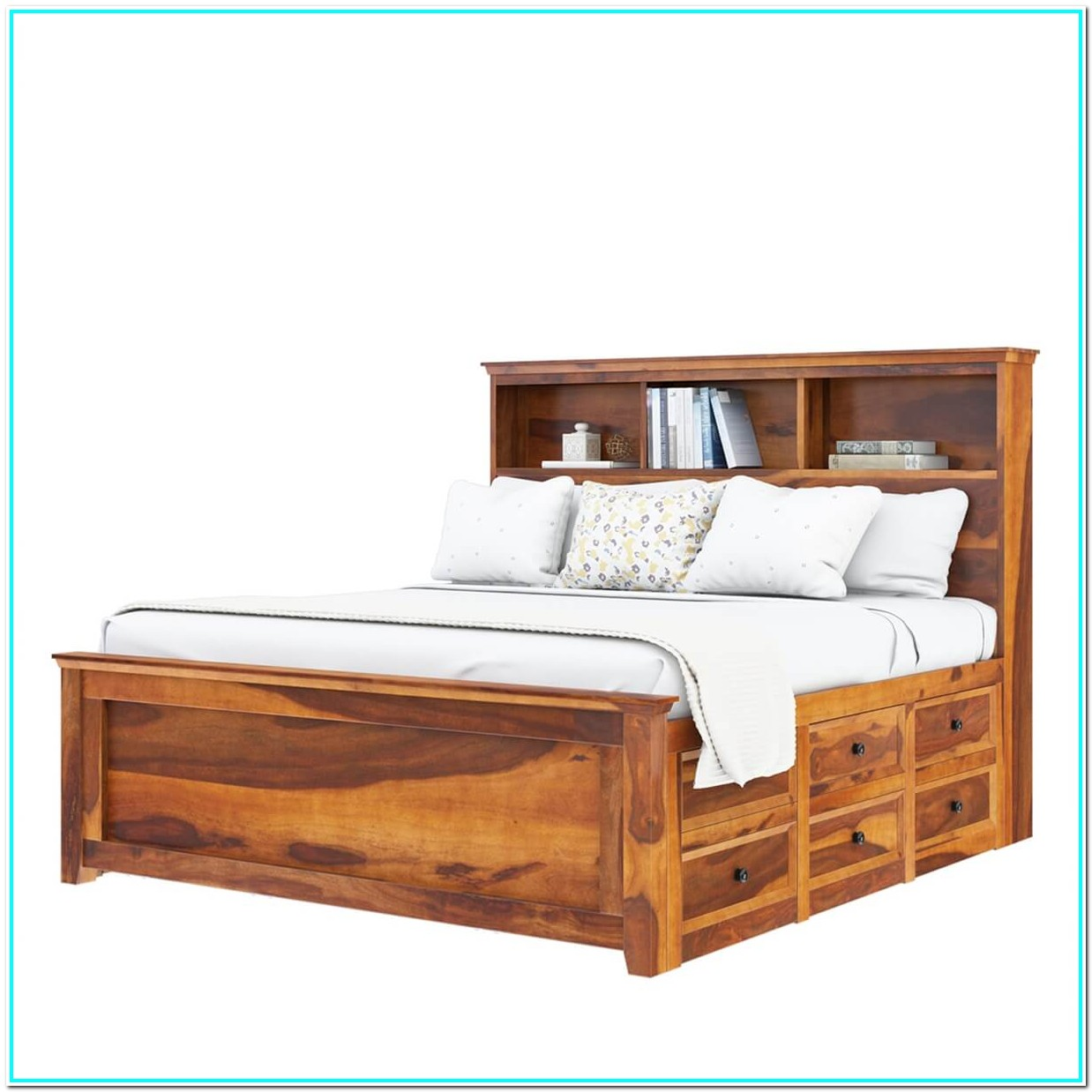 Solid Wood Bunk Beds With Storage