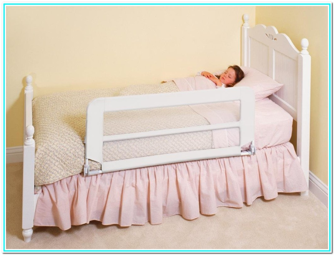 Toddler Bed With Rails Boy