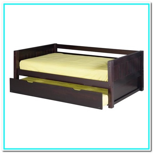 Twin Bed With Rails And Trundle