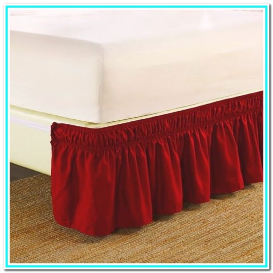 Wrap Around Bed Skirt Walmart