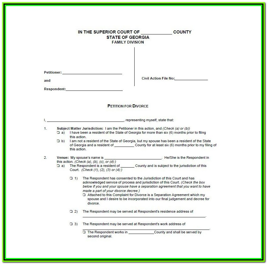 York Pa Divorce Forms