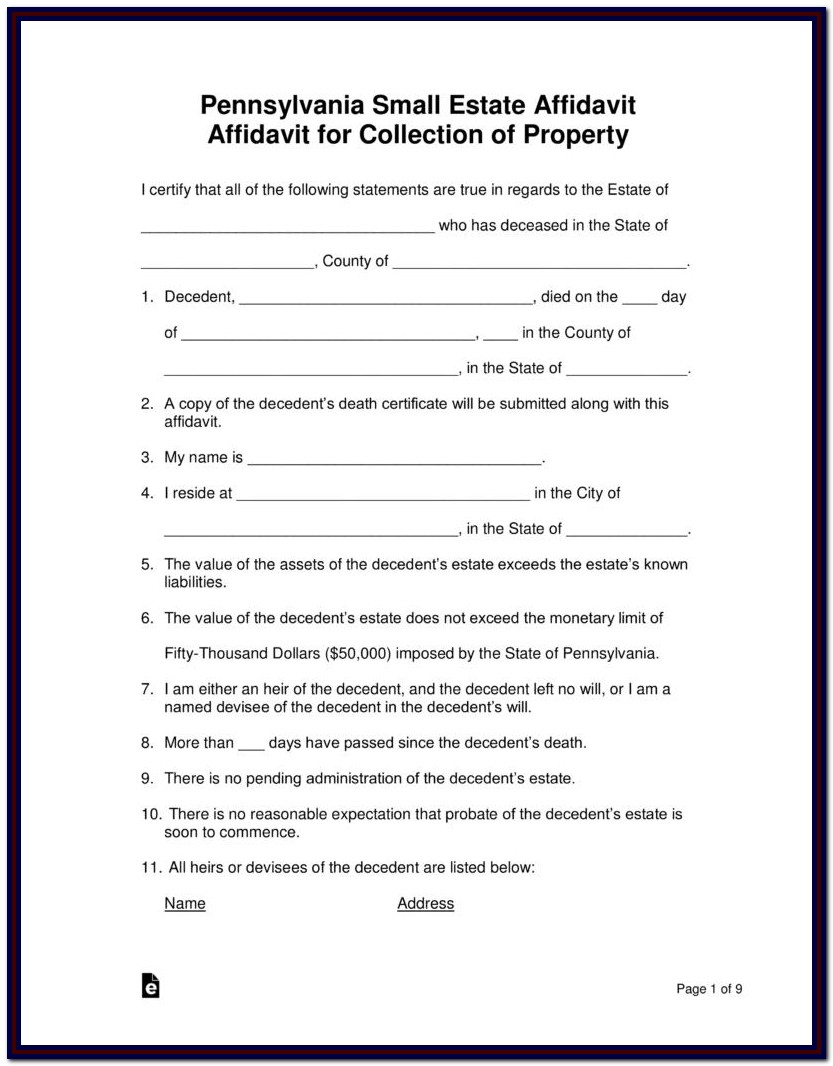 Delaware Divorce Forms Packet