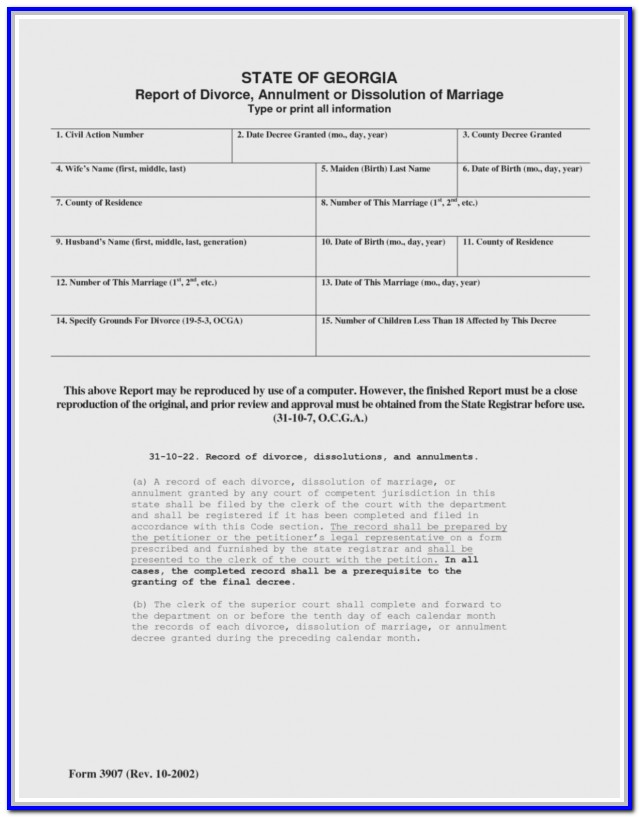 Fulton County Uncontested Divorce Forms