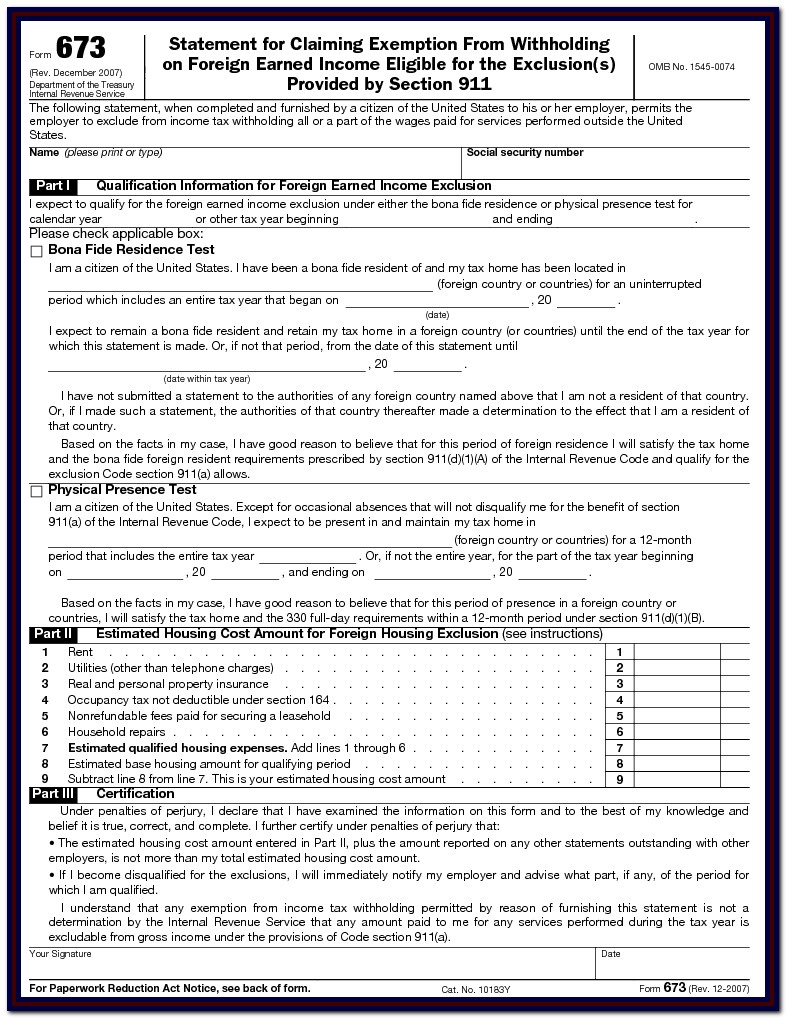 Irs W2 Form Calculator