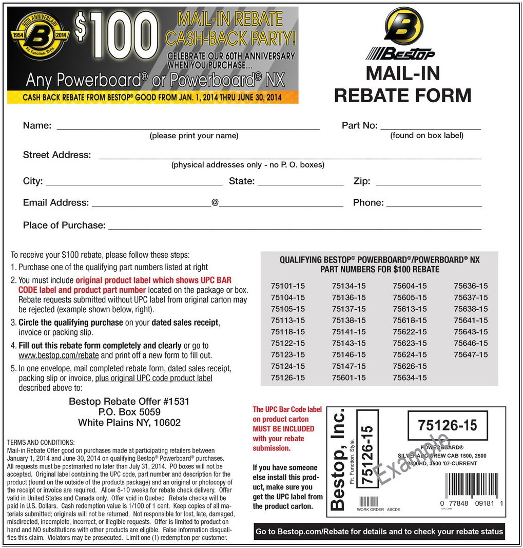 Firestone Tire Rebate Form 2018