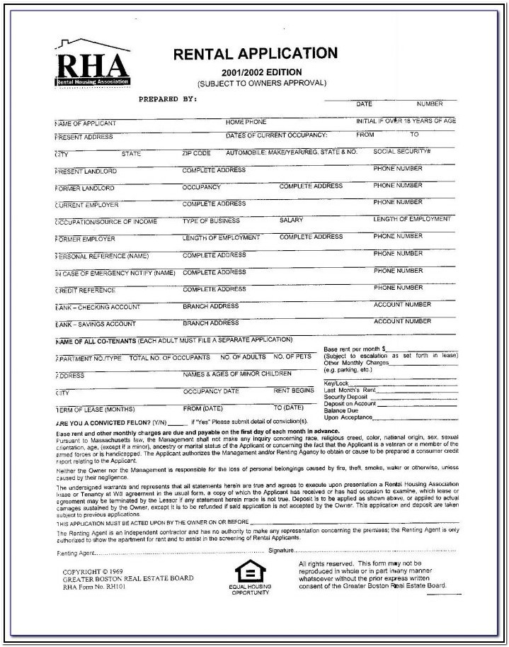 Nyc Rent Renewal Form