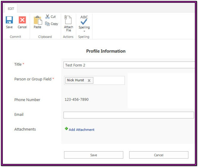 Sharepoint Nintex Forms Tutorial