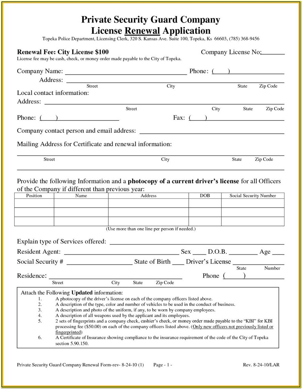 As9102 Form 3 Sample