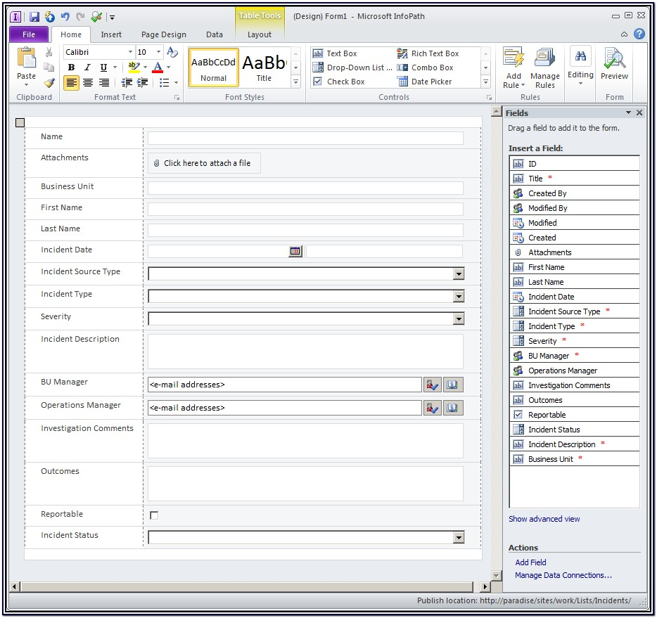 Creating Forms In Sharepoint 2013 Without Infopath