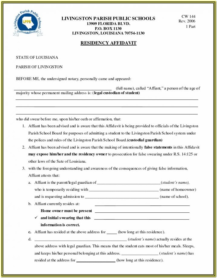 Free Guardianship Forms Pa