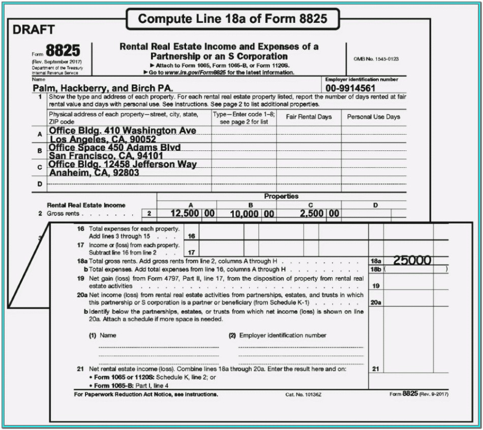 Irs Form 1065 Instructions 2018