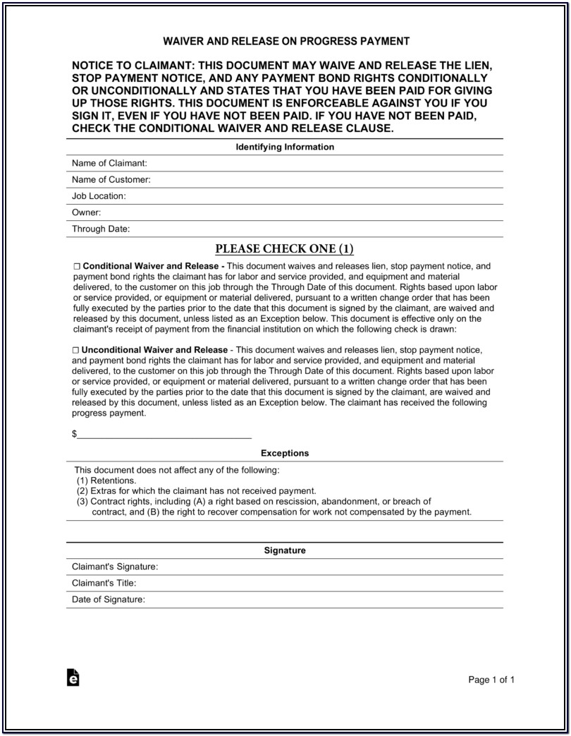 Lien Holder Release Form Texas