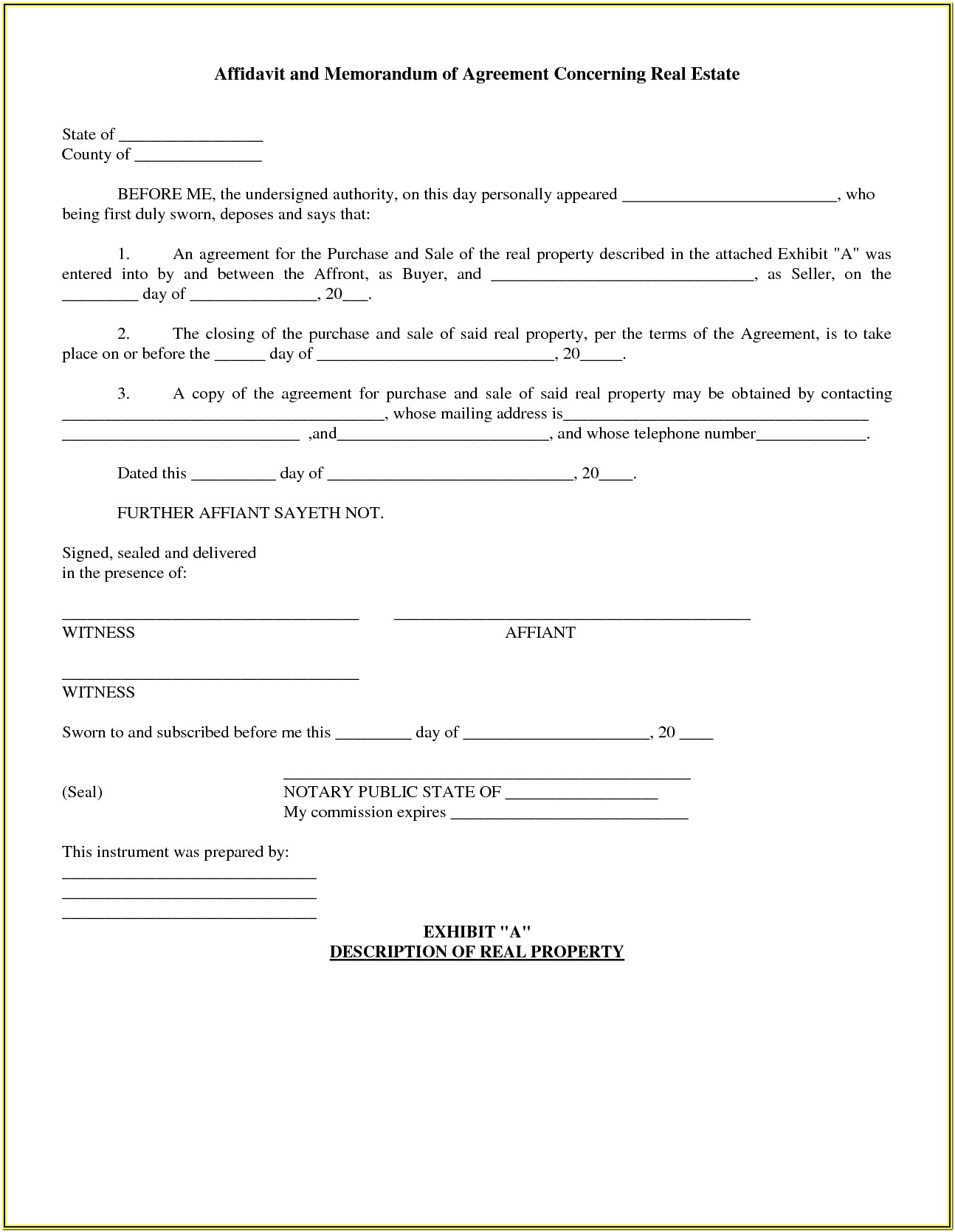 Ontario Residential Lease Renewal Form