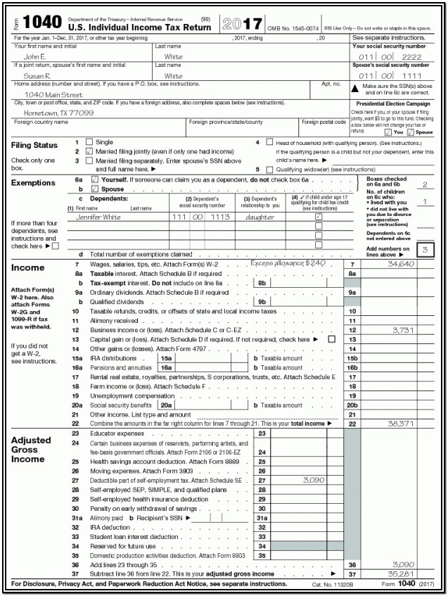 Tax Form Helper 2017