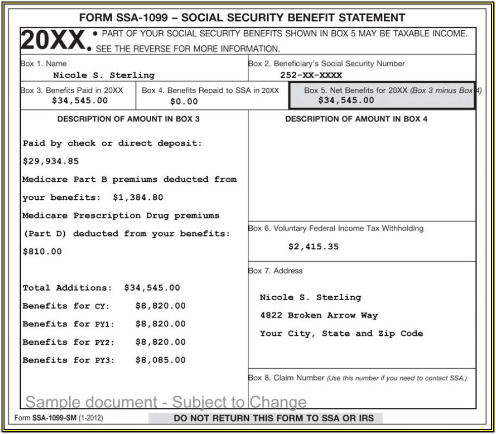 1099 Irs Forms