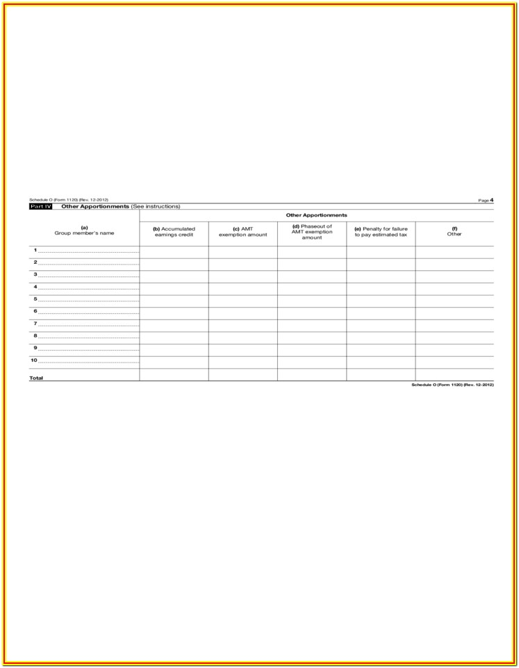 2012 Form 1120s