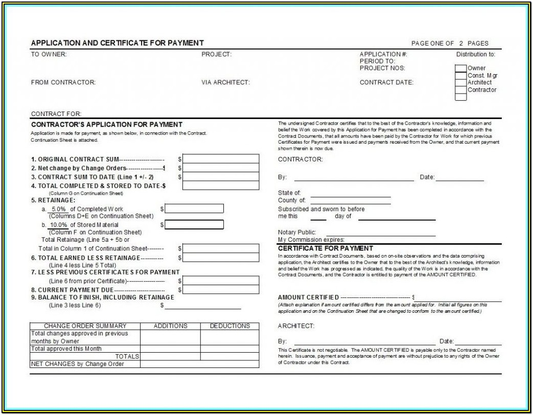 Aia Payment Form