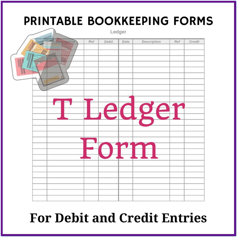 Bookkeeping Free Printable Accounting Forms