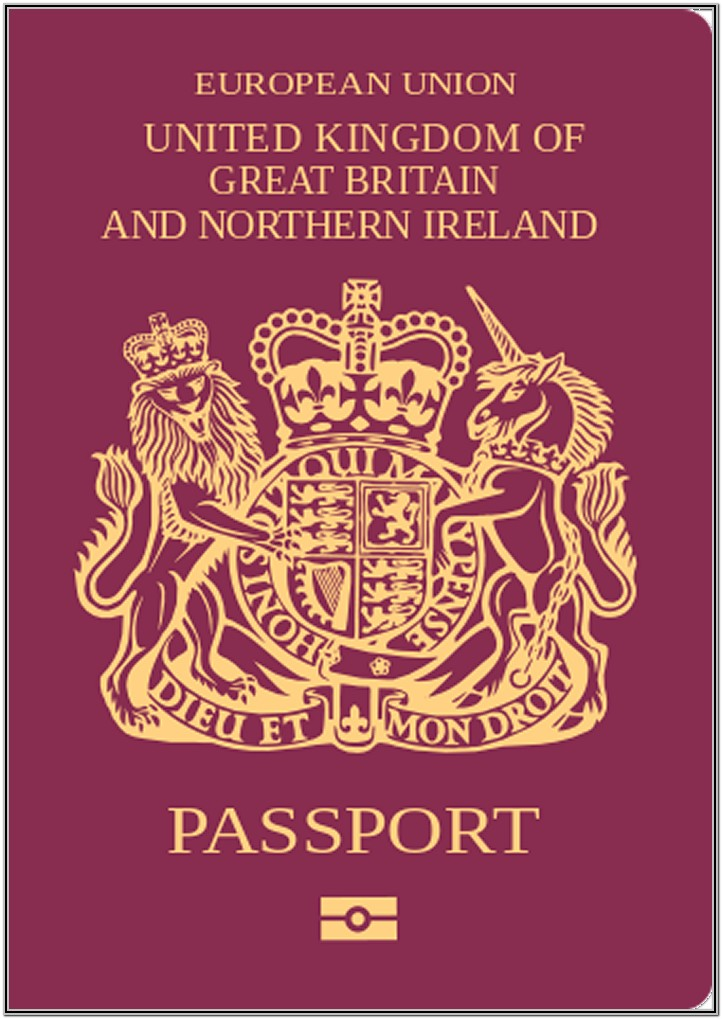 British Passport Renewal Forms Canada