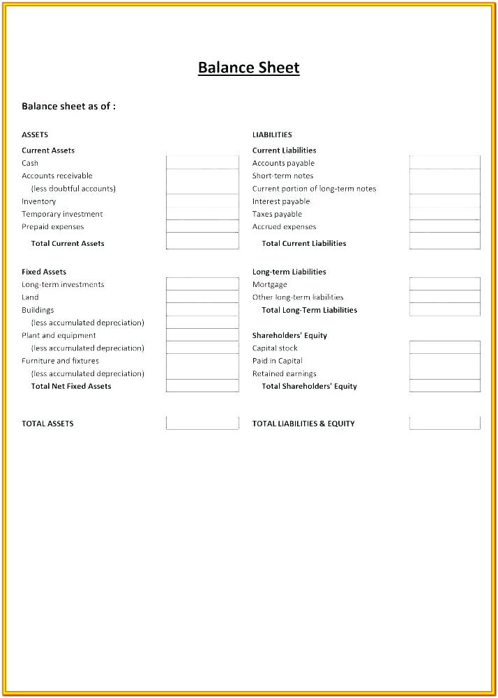 Checkbook Checking Account Reconciliation Form