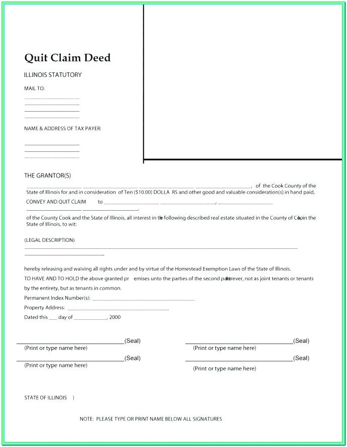 Contract For Deed Florida Form