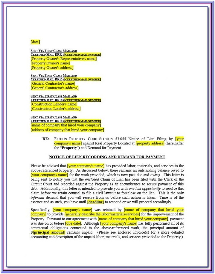 Cook County Quit Claim Deed Form