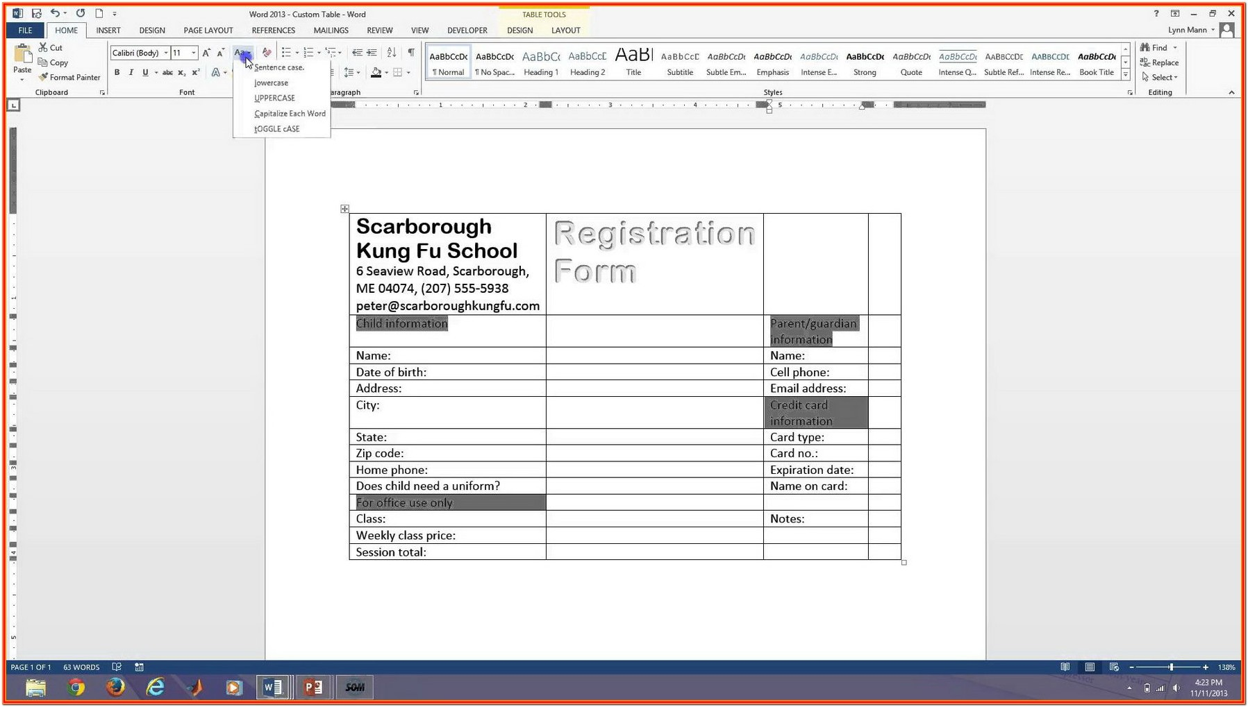 Create A Fillable Pdf Form From Word