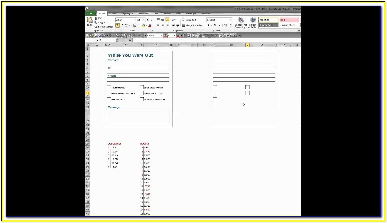 Creating A Fillable Form In Google Docs