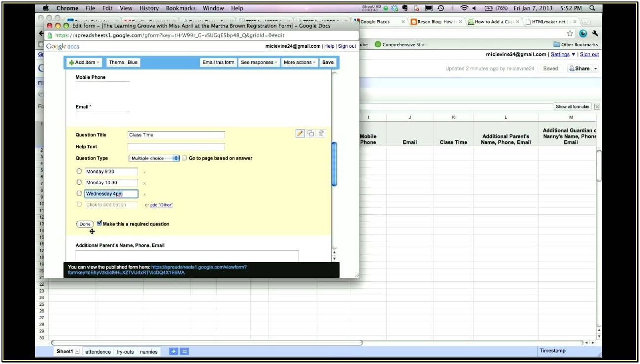 Creating Fillable Forms In Google Docs
