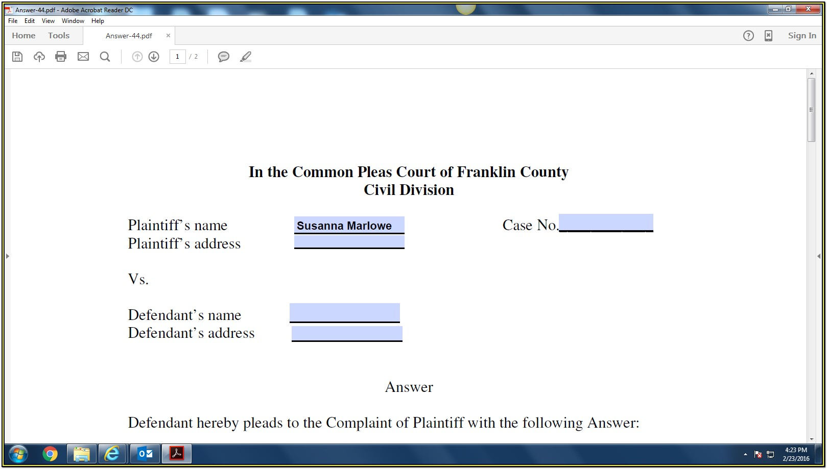Creating Fillable Forms Pdf