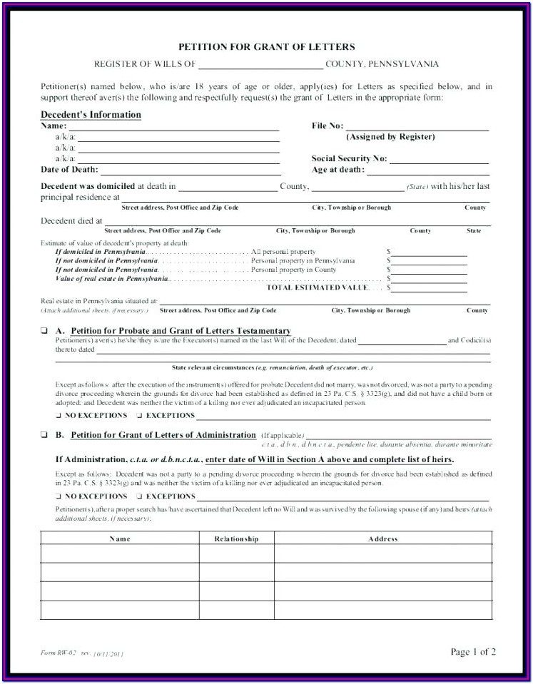 Divorce Forms In Nj