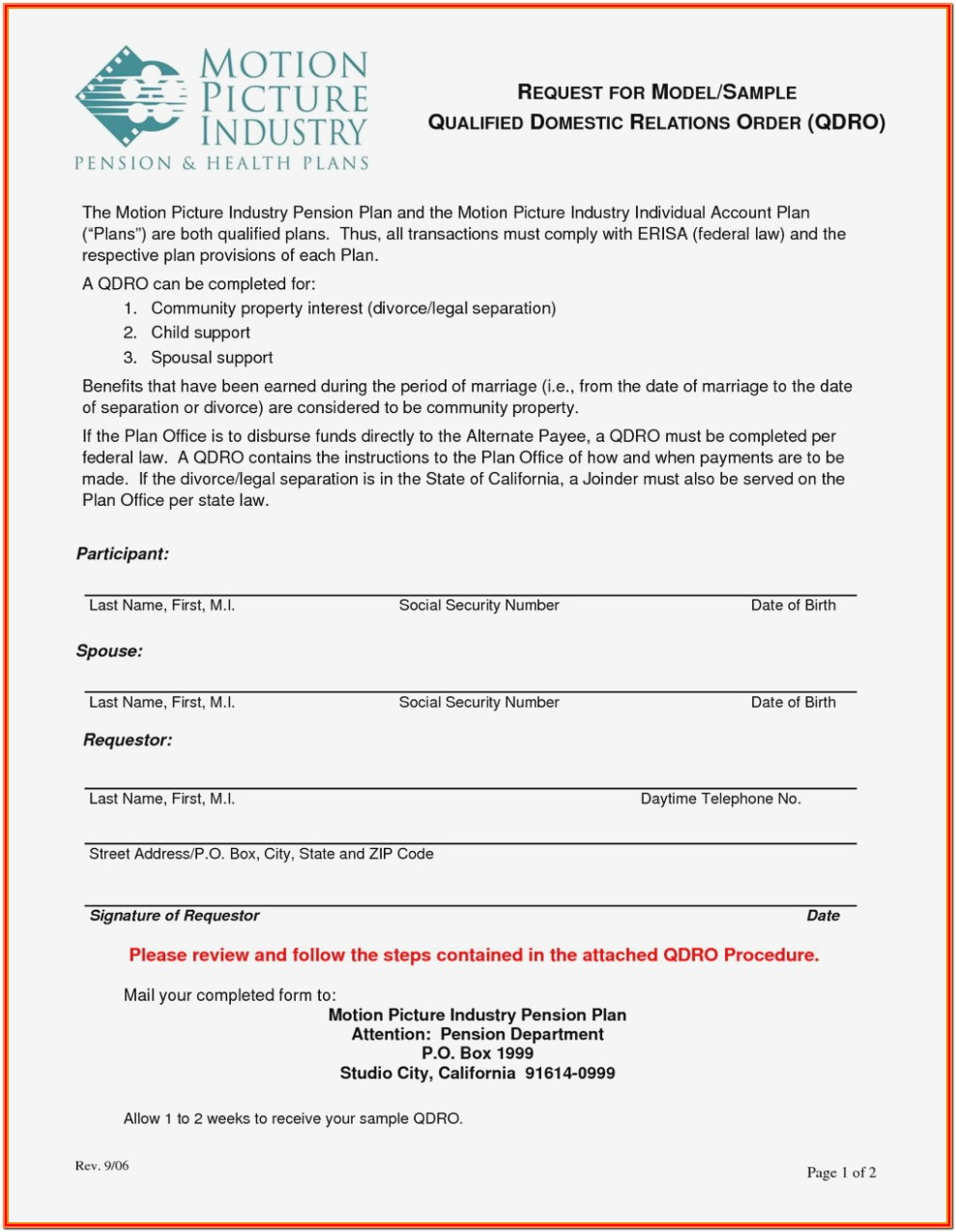 Domestic Partner Affidavit Form Florida