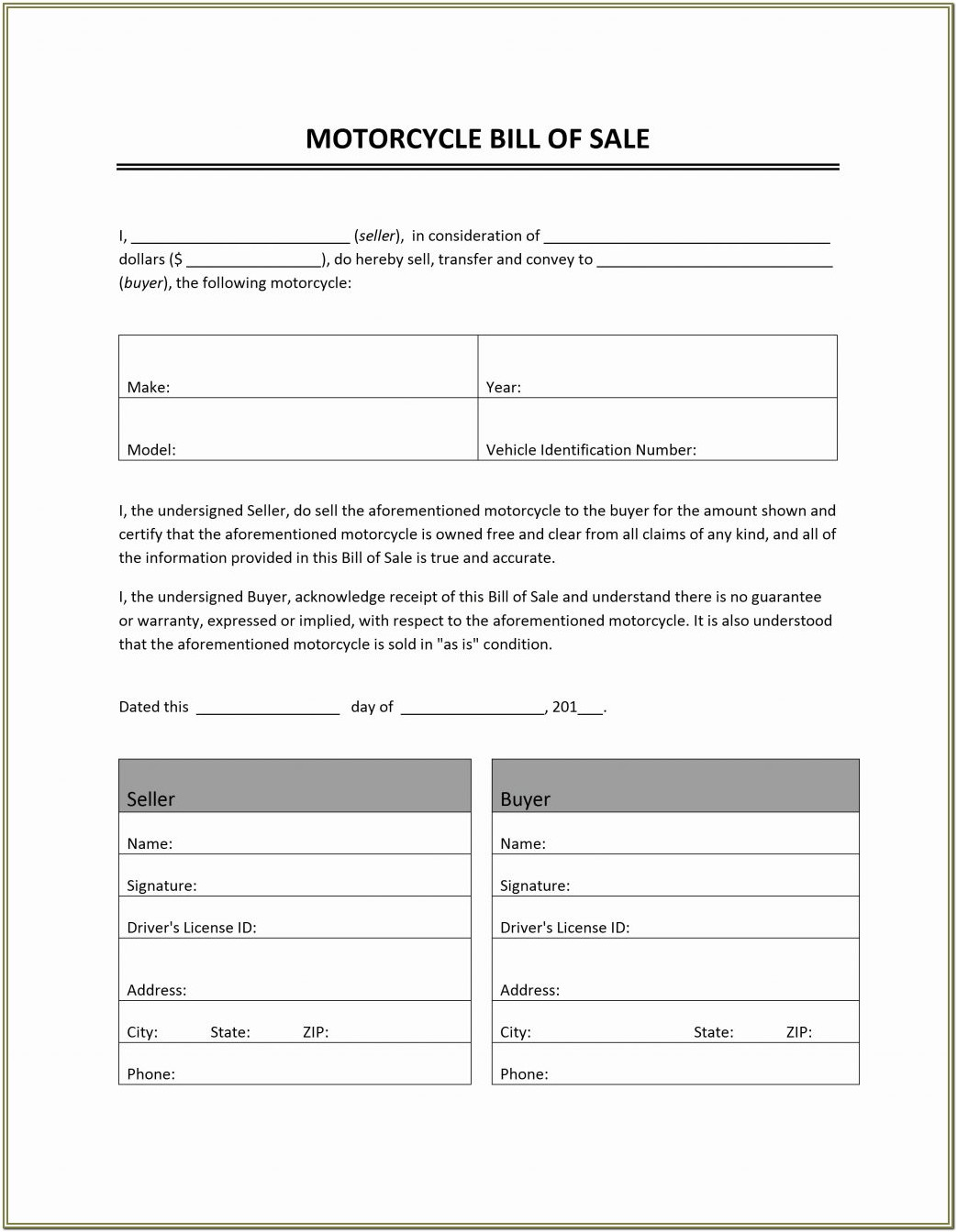 Download Sr22 Form