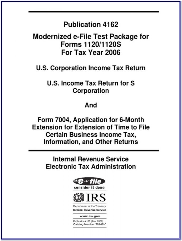 E File Tax Forms