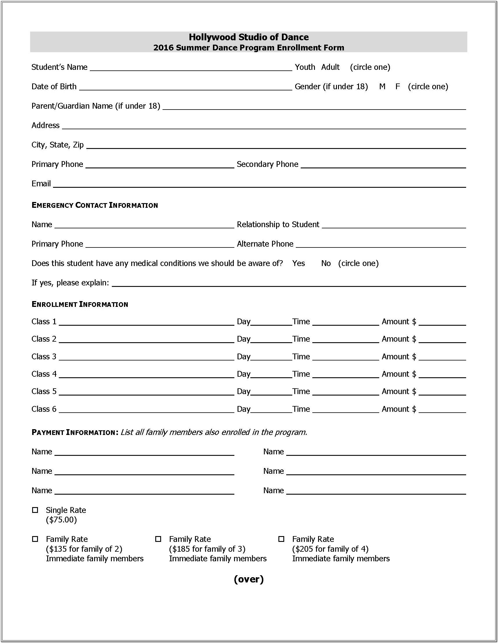 Edi Enrollment Form For Medicare