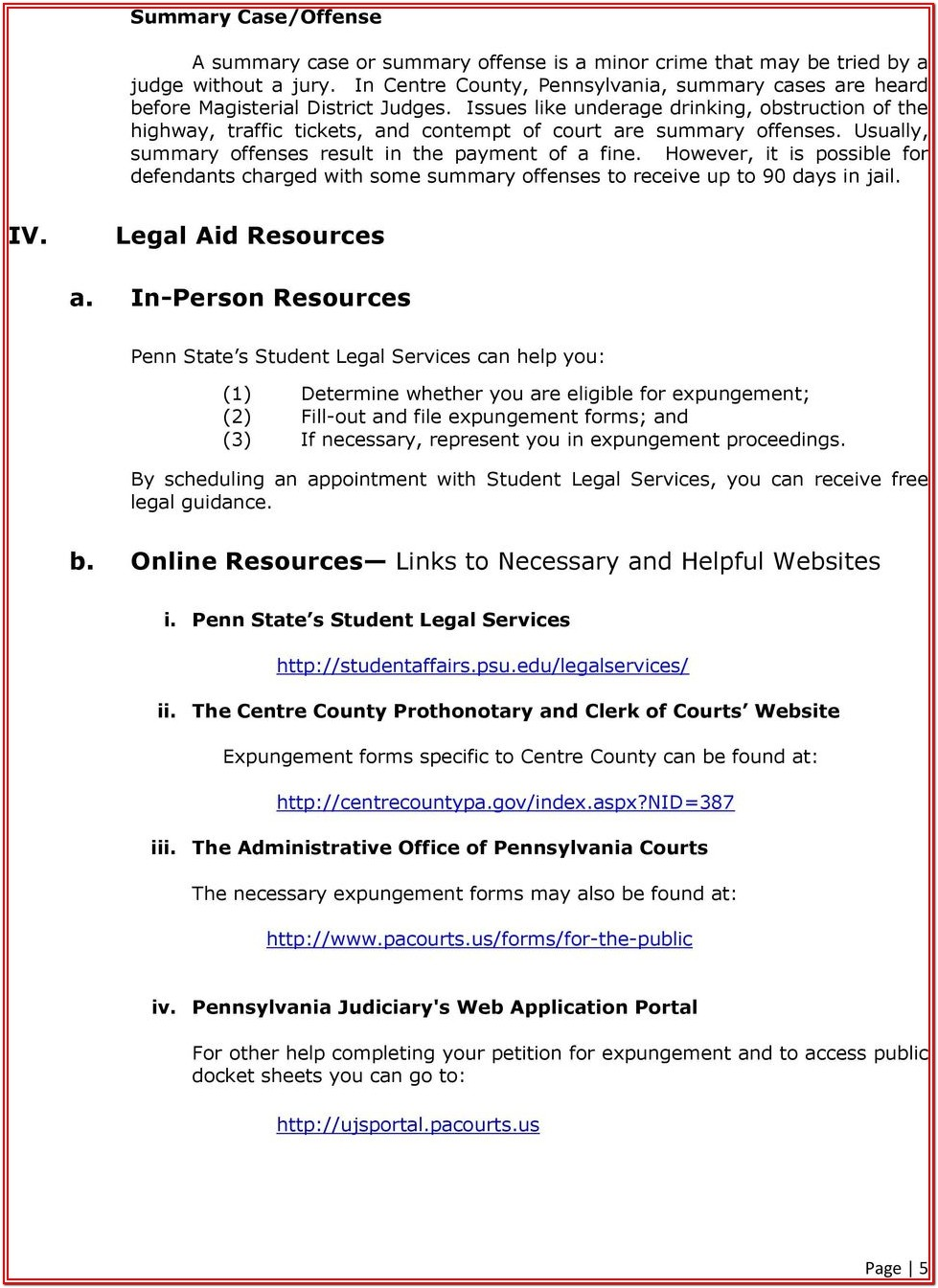 Expungement Forms Texas