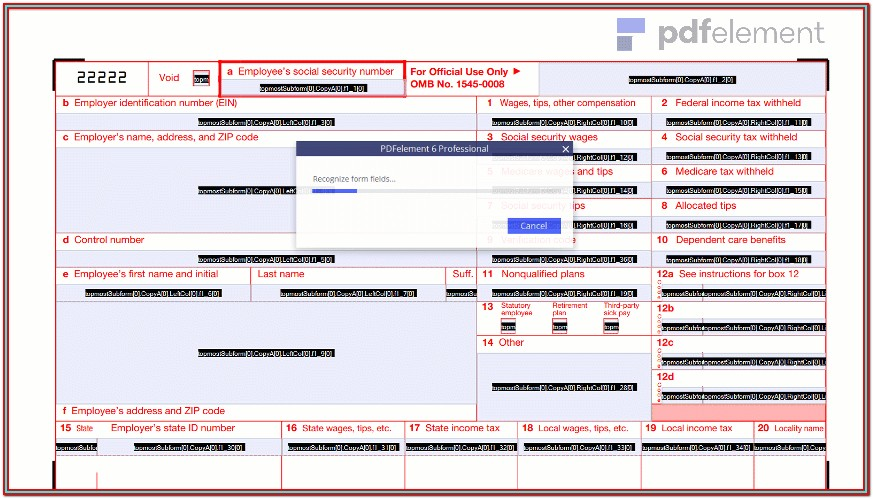 Fillable W 2 Form 2017 Free (40)