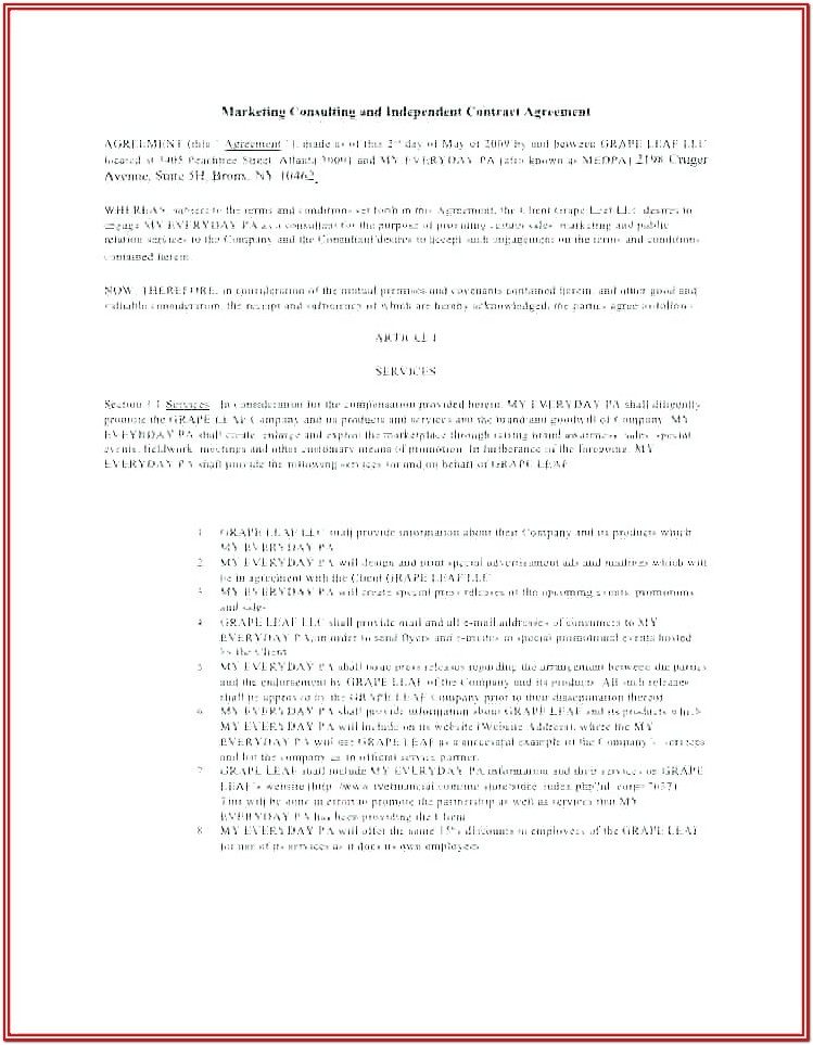 Finders Fee Agreement Form
