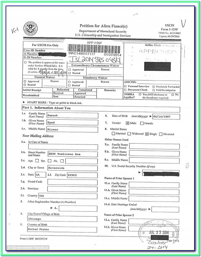Form For Renewing Passport