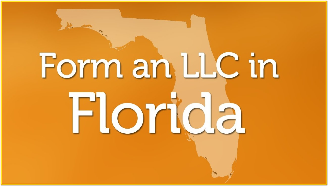 Forming Llc In Florida